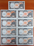 Egypt 10 Piastres 1998 UNC X 13 Banknotes With Same S/numbers 000317 1st Series Р-187 - Egypt