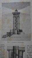 LE PHARE DE PORT-VENDRES Dans LA NATURE Du 12 Décembre 1889 - Sciences