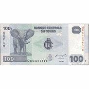 TWN - CONGO DEM. REP. 98A - 100 Francs 31.7.2007 MB - B (G&D) UNC - Congo