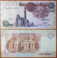 Egypt 1 Pound 2007 UNC Replacement #700 - Egypte