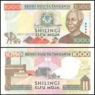 Tanzania #34, 1.000 Shilingi, ND (2000), UNC - Tanzanie