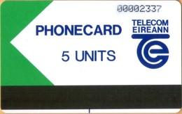 IRELAND - Autelca Trial Card, 5Units, 5.500ex, 2/89, VF Used - Ireland