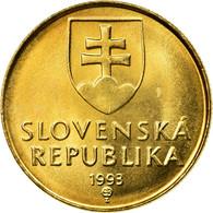 Monnaie, Slovaquie, 15th Century Of Madonna And Child, Koruna, 1993, TTB+ - Slovaquie