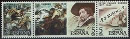 Spanien Espana Spain 1978 - Peter Paul Rubens - MiNr 2355-2357 - Kostüme