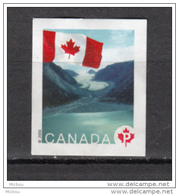 Canada, MNG, Glacier, Polaire, Polar, Montagne, Mountain, Drapeau, Flag - Géologie