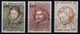 Monaco 1977 - Peter Paul Rubens - MiNr 1270-1272 - Kostüme