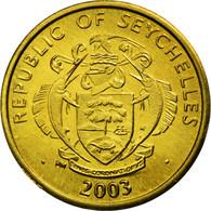 Monnaie, Seychelles, 5 Cents, 2003, British Royal Mint, SPL, Laiton, KM:47.2 - Seychelles