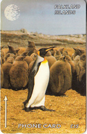FALKLAND ISL.(GPT) - King Penguin, CN : 159CFKB, Tirage 6000, Used - Falklandeilanden