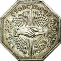 France, Jeton, Notaires De L'Arrondissement De Toulon, SPL, Argent, Lerouge:399 - France