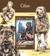 Sao Tome And Principe 2016 Dog Chien MNH 1 Sheet - São Tomé Und Príncipe