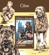 Sao Tome And Principe 2016 Dog Chien MNH 1 Sheet - Sao Tome And Principe