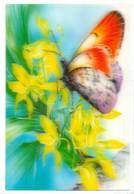 Trójwymiarowa Lenticulaire 3D - Kwiaty I Motyle - Fiori
