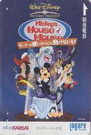 Carte Prépayée Japon DISNEY - Série Classics N° 1 - MICKEY Pirates Donald Chien Goofy - Japan Prepaid Lagare Card - Disney