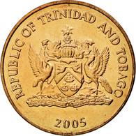 Monnaie, TRINIDAD & TOBAGO, 5 Cents, 2005, Franklin Mint, SPL, Bronze, KM:30 - Trinité & Tobago