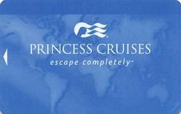 Princess Cruises - Blank Cruise Ship Room Key / ID Card With JET 25055 - Hotel Keycards