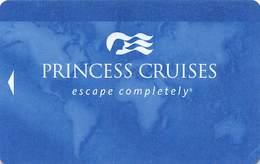 Princess Cruises - Blank Cruise Ship Room Key / ID Card With P613258 - Hotel Keycards