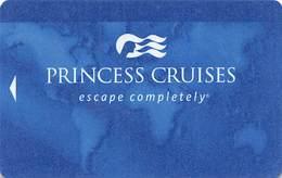 Princess Cruises - Blank Cruise Ship Room Key / ID Card With C-94882A - Hotel Keycards