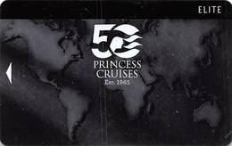 Princess Cruises - Blank Cruise Ship Room Key / ID Card With JET 02/15 48965 - Hotel Keycards