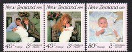 NEW ZEALAND, 1989 HEALTH 3 MNH - New Zealand