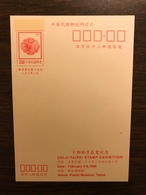 TAIWAN 1998 Postal Stationery PSC Ducks Mint - Birds
