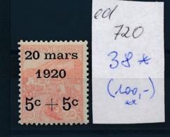 Monaco Nr. 38    *  (ed720   ) Siehe Scan - Unused Stamps
