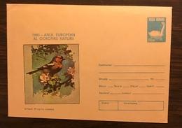 ROMANIA 1980 Postal Stationery PSE Birds Swan Mint - Birds