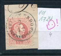 Österreich-Klassik -netter Stempel.....    (ed1724   ) Siehe Scan - 1850-1918 Empire