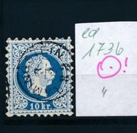 Österreich-Klassik -netter Stempel.....    (ed1736   ) Siehe Scan - 1850-1918 Empire