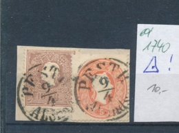 Österreich-Klassik -netter Stempel.....    (ed1740   ) Siehe Scan - 1850-1918 Empire