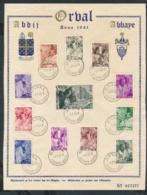 Belgien Gedenk Blatt ....ansehen....   (bg2503  ) Siehe Scan - Belgien