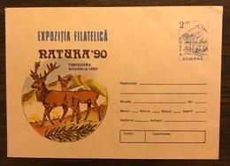 ROMANIA 1990  Postal Stationery PSE Birds Heron Mint - Birds