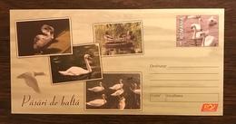 ROMANIA 2015  Postal Stationery PSE Birds Swans Mint - Birds
