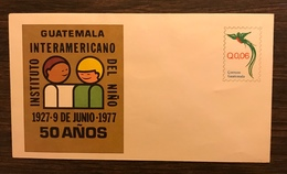 GUATEMALA 1977 Postal Stationery PSE Birds Quetzal 0.06 Mint - Birds