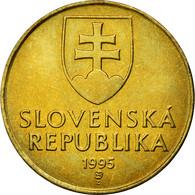 Monnaie, Slovaquie, 10 Koruna, 1995, TTB, Aluminum-Bronze, KM:11 - Eslovaquia