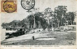 CONGO(BANGUI) BATEAU(IVOIRE) - Congo - Brazzaville