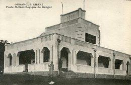 CONGO(OUBANGUI CHARI) POSTE METEOROLOGIQUE - Congo - Brazzaville
