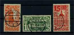 DANZIG 1935 Nr 256-258 Gestempelt (109362) - Dantzig