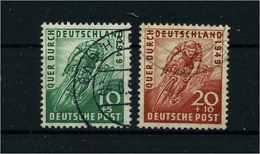BIZONE 1949 Nr 106-107 Gestempelt (109337) - Bizone
