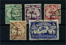 DANZIG 1921 Nr 66-70 Gestempelt (109341) - Dantzig