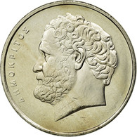 Monnaie, Grèce, Democritus, 10 Drachmes, 2000, SPL, Copper-nickel, KM:132 - Greece