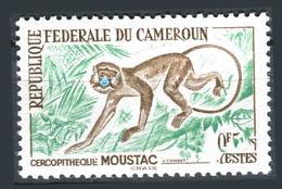 Brand роstсаrd Cameroon сartе роstalе Monkey - Camerun (1960-...)