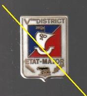 Pin's 5ème District état Major De La Police......BT3 - Police