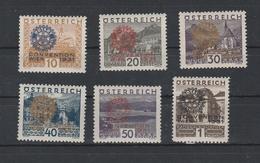 Rotarier Mi. Nr. 518 - 523 Ungebraucht - 1918-1945 1. Republik