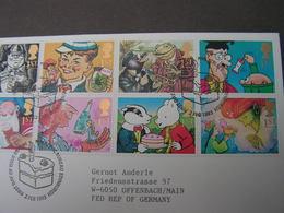 GB FDC 1993 1431 -1440 - FDC
