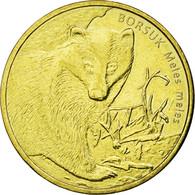 Monnaie, Pologne, Borsuk, 2 Zlote, 2011, Warsaw, SUP, Laiton, KM:762 - Pologne