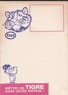STATION ESSO--carnet De Compte De 22 Feuilles Mettez Un TIGRE Dans Votre Moteur !--( 23 - Voitures