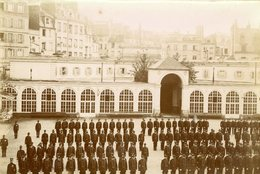 GUERRE 14/18 - ECOLE POLYTECHNIQUE Vers 1900 , Sur Papier Sépia - Guerre, Militaire