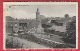 Estinnes-au-Mont - Panorama ... L'église Et Maison Environnantes ( Voir Verso ) - Estinnes