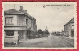 "Biercée - Route De Sartiau... Vers Lobbes - Café "" Au Robot "" ( Voir Verso ) - Thuin"