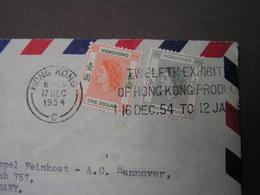 China  HK  Cv. 1954 - Briefe U. Dokumente